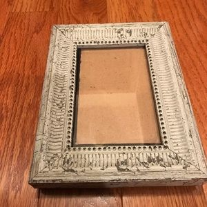 Rustic/weathered picture frame for 4x6 in pic